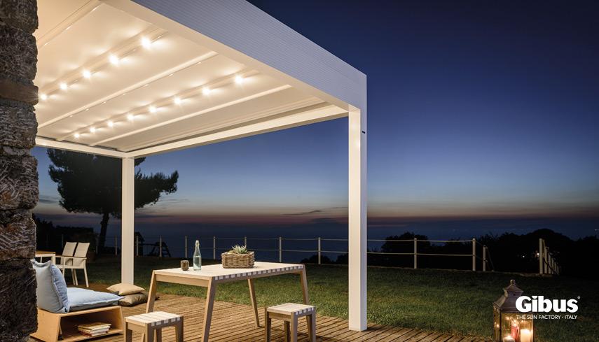 Tende da sole per case residenziali atelier gibus sardegna for Piscine ore sole
