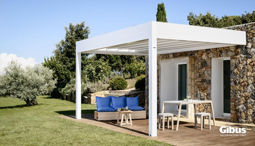 Tende da sole per case residenziali | Atelier Gibus Sardegna
