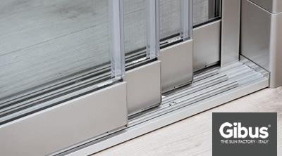 Vetrate scorrevoli atelier gibus sardegna for Le belle vetrate scorrevoli