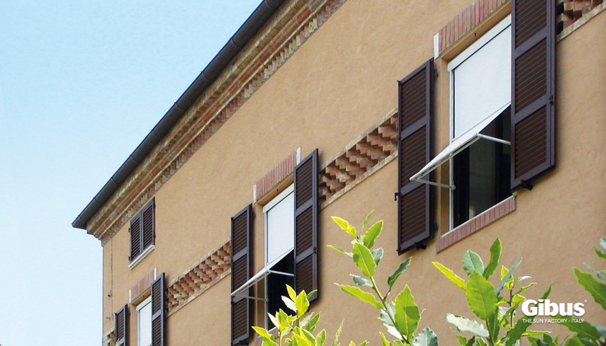 Tende da sole a finestra gibus atelier gibus sardegna - Detrazione tende da sole 2017 ...