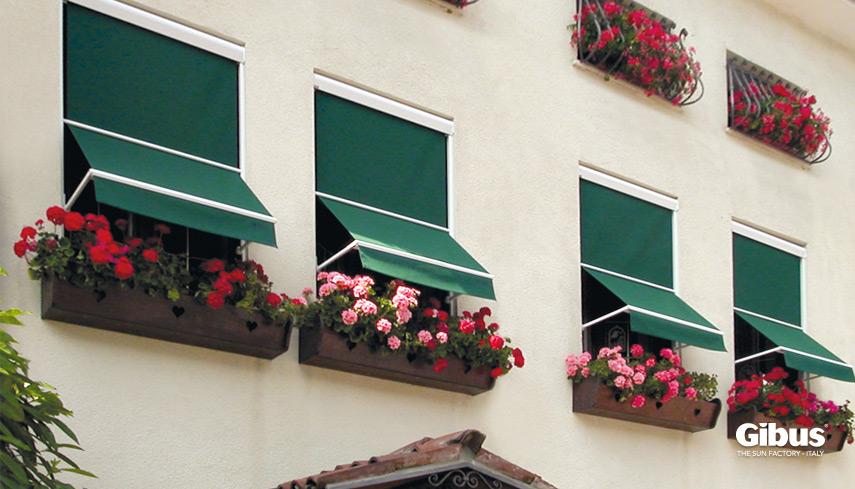 Tende da sole a finestra gibus atelier gibus sardegna - Tende parasole per finestre ...