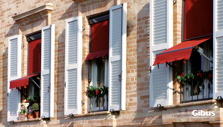 Tende Da Finestra Stile Country : Tende a finestra tf gibus atelier sardegna